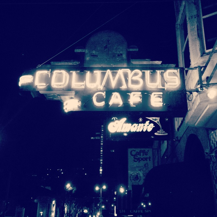 Columbus Cafe San Francisco | jessicamakolin.wordpress.com
