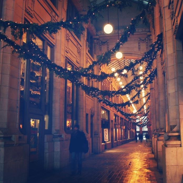 Happy Holidays from Nickels Arcade | Ann Arbor, Michigan | jessicamakolin.wordpress.com
