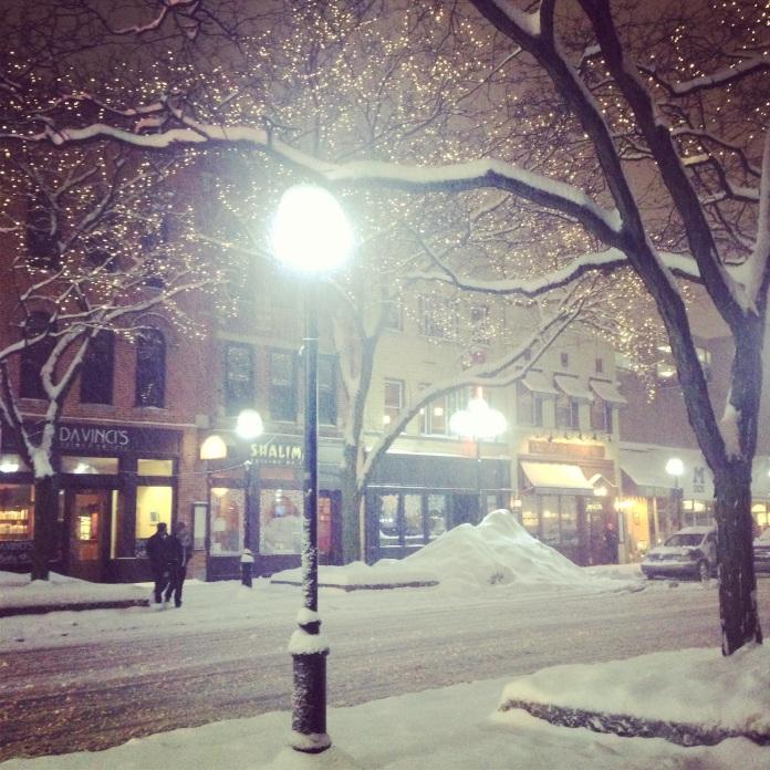 Main Street Winter | Ann Arbor, Michigan | jessicamakolin.wordpress.com