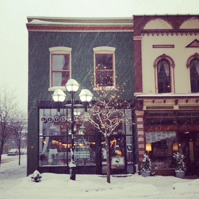 Literati Bookstore | Ann Arbor, Michigan | jessicamakolin.wordpress.com